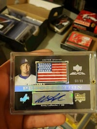 Andy laroche rookie patch auto  Jessup, 20794