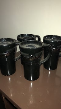 Mugs are in great co sitio , cake holder is a custom made but coffee dispenser has been barely used. Alexandria, 22306