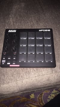 black and gray Akai MPK mini Washington, 20016