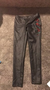 black and red floral pants Calgary, T3K 6B9