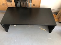 Black solid wood coffee table  Las Vegas, 89135