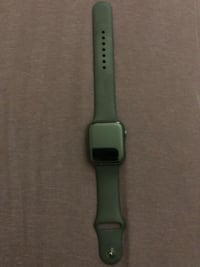 Space gray aluminum case apple watch with black sports band Takoma Park, 20912