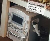Karaoke singing machine with Bluetooth  Herndon, 20170
