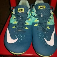 NIKE rival s sprinting cleats  size womens 10 like St. Louis, 63110