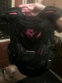 Ladies icon chest protector vest  pink  an black Hamilton, L8M 3B2
