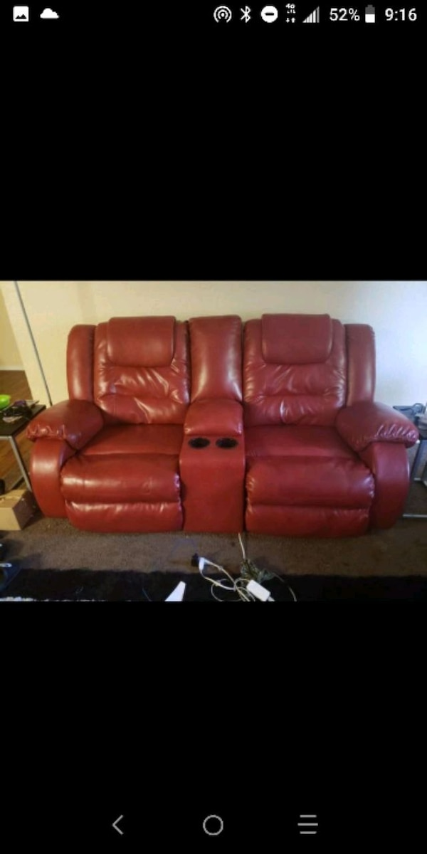 Admirable 2Pc Vacherie Salsa Reclining Sofa Loveseat Gmtry Best Dining Table And Chair Ideas Images Gmtryco