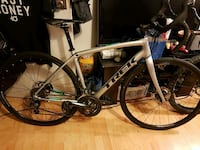 white and black road bike Surrey, V3W 2X3