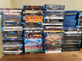 Blu Ray Movie Collection (109)