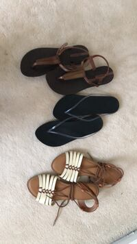 Assorted sandals size 5/6 Vancouver, V5Z