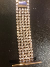 Apple Watch diamond studded straps rose gold Mississauga, L5N 5W3