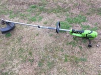 Electric 120v weedeater runs great
