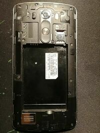 Lg g3 motherboard and frame