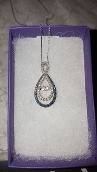 Blue & White Diamond Necklace Sandusky, 44870