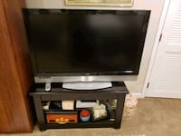 gray flat screen television with TV stand Damascus, 20872