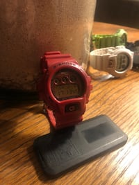 Red G-shock Casio watch Fairfax, 22031