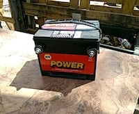 black and red Power automotive battery Albuquerque, 87102