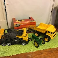TOY TRUCKS LOT OF 3