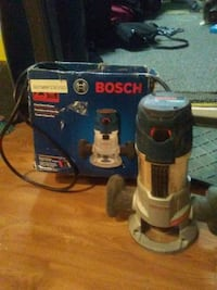 Bosch fixed based router