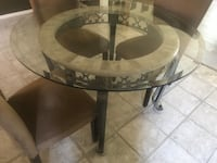 Dining Room Table and Glass with chairs  Henrico, 23228