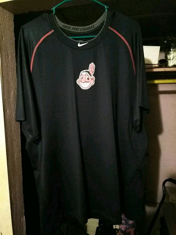 42c3687c Used Cleveland indians nike pro combat authentic 3xl for sale in ...