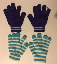 Gloves (2 pair) | Carters Size 4-8 Ashburn, 20147