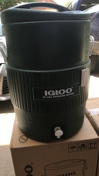 Two 10 gallon water coolers $50.00 each Rowlett, 75089