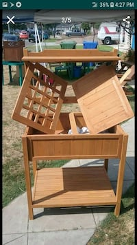 Potting bench with storage nice gift $50 firm Whittier, 90606