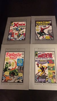 Marvel Masterworks / excellent condition. All four North Las Vegas, 89031