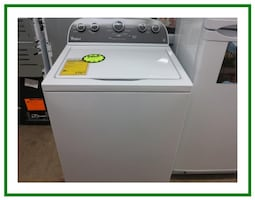 Whirlpool top load washer WTW4900BW