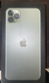 Brand new iPhone 11 Pro Max green Toronto, M4A 1A5