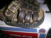 pair of brown leather sandals Brownsville, 78521