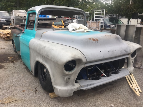 1955 Chevy Truck For Sale >> Bagged 1955 Chevy Truck