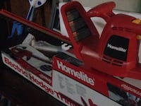 Homelite electric hedge trimmer Los Angeles, 91345