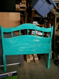 Teal twin sized headboard $55 Carson City, 89706