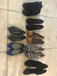 Women's shoes size 7 . $1 EACH Spencer, 73084