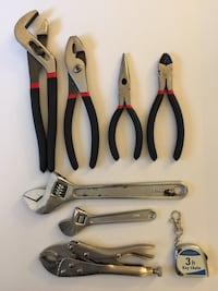 Various Pliers, Vise Grips, & Adjustable Wrenches  Reisterstown, 21136