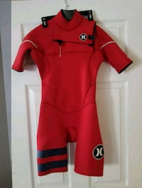 Hurley Fusion 202 Spring Suit Wetsuit Young Size12 Costa Mesa, 92627
