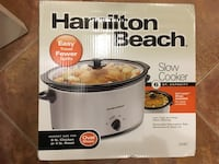 Brand new Hamilton Beach slow cooker Sterling, 20165