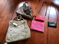 Womans purses all for 40 Easton, 06612