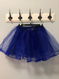 Dark blue tulle skirt 557 km