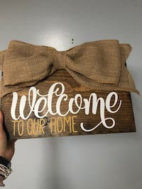 Welcome to our home signs-custom Buffalo, 14203