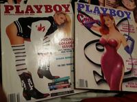 1989/1988 playboy magazine lot