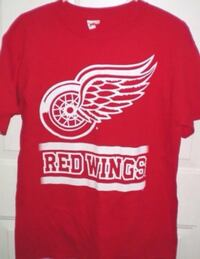 Detroit Red Wings Tshirt Medium Adult London