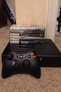 Xbox 360 with 6 games Middleburg, 20117