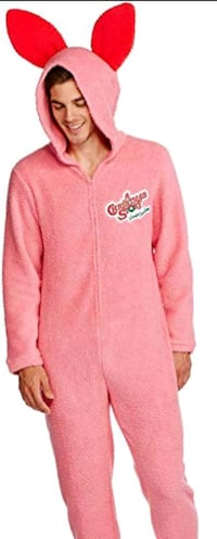 A Christmas Story pink bunny onesie / pajama  Des Moines, 50317