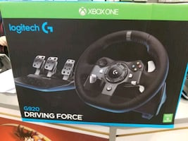 Xbox one/computer Game Steering Wheel