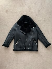 Zara Moto Biker Leather Jacket (XS) Toronto, M6M