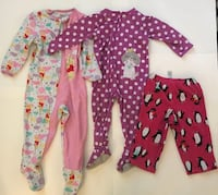 toddler's three assorted footies Suisun City, 94585