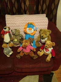 assorted-color animal plush toy lot Central Falls, 02863
