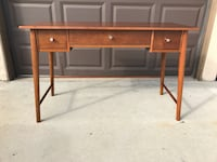Amherst Mid Century Modern Writing Desk Brown - Project 62 ROWLAND HGHTS, 91748